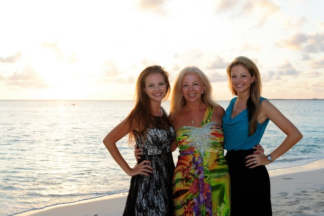 My wife Justina and daughters Sandy and Tanya